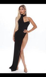 Fashion nova exposure maxi dress