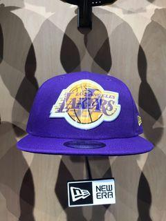 NEW ERA 湖人隊徽 NBA LAKERS紫色