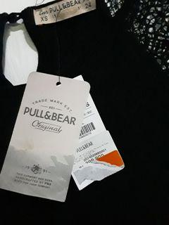 New T-shirt lace Pull &bear