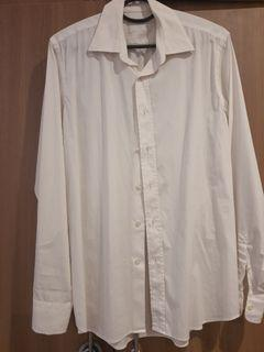 Prada classic white long sleeves