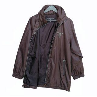 Prada Milano Raincoat Jacket Big Logo