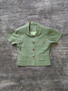 Preloved - Setelan Blazer & Celana Vintage