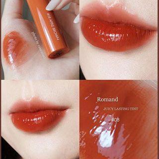 Romand Apple Brown 唇釉 唇膏 染唇