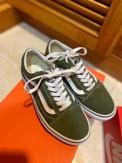 Vans 墨綠經典款size22.5