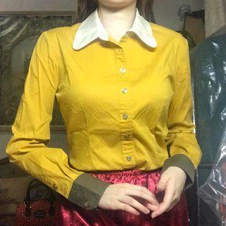Vintage Mustard Collar polo