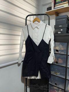 ZARA polo dress