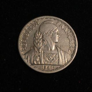 1941S French Indochina 20 Centimes