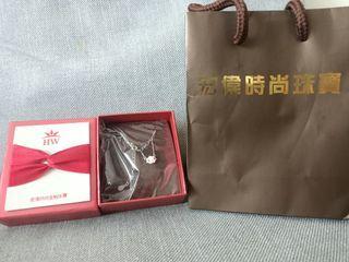 全新 宏偉時尚珠寶 小雲朵銀飾項鍊 附盒+提袋 送禮自用兩相宜 小資族 情人節/節慶/生日/聖誕節 送禮