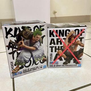 海賊王/航海王 日版金證(全白) ONE PIECE KING OF ARTIST 藝術王者 和之國 索隆(Roronoa Zoro) 非娃娃機公仔