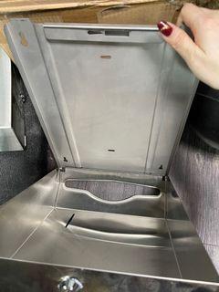 不銹鋼擦手紙架 KF-9502 不銹鋼衛生紙架 不銹鋼擦手紙盒 不銹鋼擦手紙箱#集氣