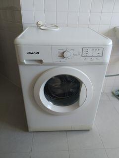 Almost new Brandt Front-load washing machine