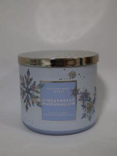 Bath and Body Works Gingerbread and Marshmallow