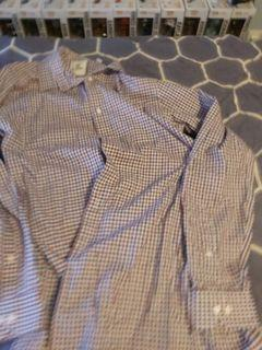 Ben Sherman dress shirt medium plaid
