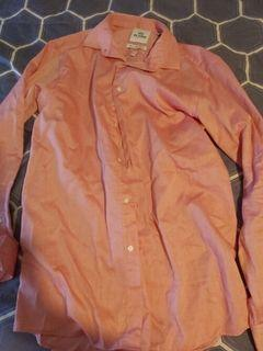 Ben Sherman dress shirt medium pink