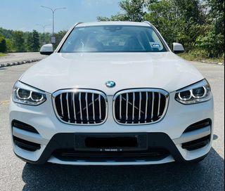 BMW X3 sDRIVE 20i xLINE  KOYAK PLASTIK NEW SAMBUNG BAYAR BERDEPOSIT/CONTUNIE LOAN