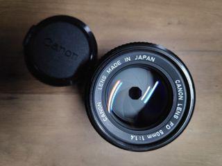 Canon FD50mm f1.4 Lens