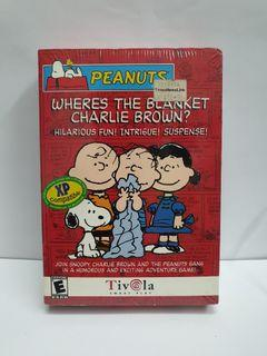 (CD Game) Peanuts, Where's The Blanket Charie Brown