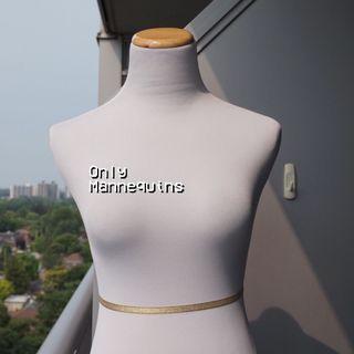 EUC🌿 Only Mannequins White Female Dress & Slack Form Mannequin (2-4)