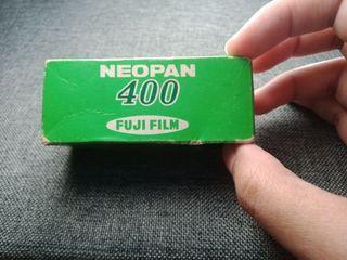 EXPIRED FILM 1981 ROLL FUJIFILM NEOPAN 400