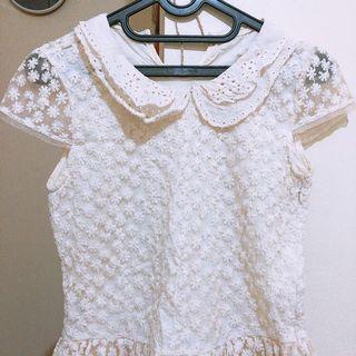 Korean lace dress kids