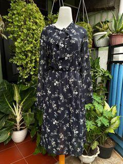 Longdress Vintage dress Hitam