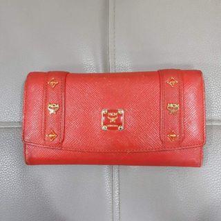 MCM Tri Fold Long Wallet
