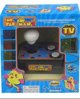 MSi Entertainment TV Arcade - Ms. Pacman Gaming System - TV Plug and Play