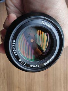 Nikkor 50mm f1.4 Lens