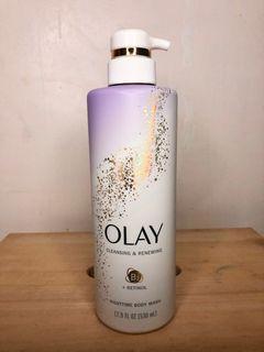 Olay - Cleansing & Renewing Nighttime Body Wash with Retinol - 17.9 fl oz.(530ml)
