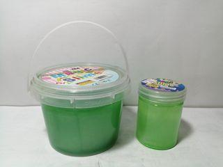 Pair of Green Slime Toys Combo Set