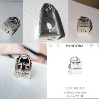 Pandora Signature Bag Charm