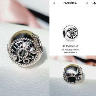Pandora Talk About Love charm