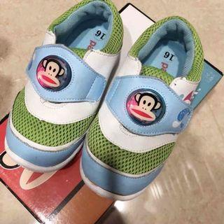 Paul Frank大嘴猴 電燈兒童運動鞋