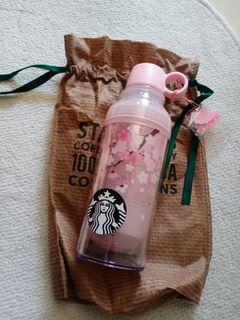 Tumbler Starbuck Blossom Pink
