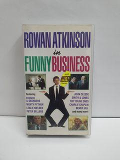 (VHS) Rowan Atkinson In Funny Business