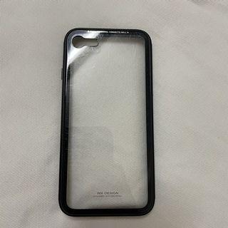 WK DESIGN iPhone7、8高防護鋁合金邊框 9H玻璃背蓋 手機殼