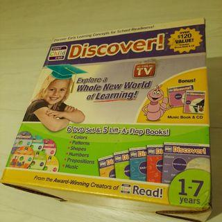 Your Child Can Discover DVD Music Books CD Set Reading Learning Read Education Book Enrichment Training