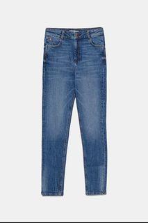 ZARA hi-rise skinny jeans