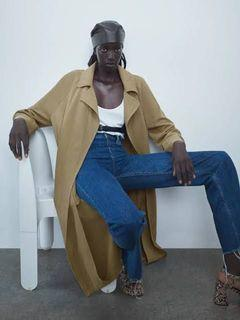ZARA light brown long blazer (coat)