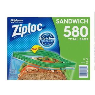 Ziploc 可封式三明治保鮮袋