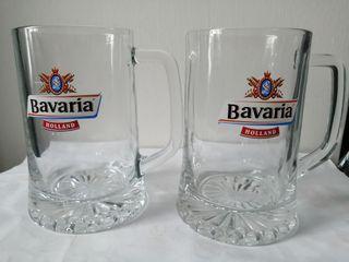 2pcs Bavaria glasses mug Holland