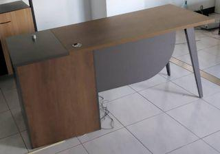 工業風實木辦公桌