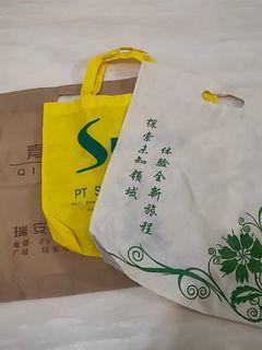 [免費送]不織布 購物袋 三個一起送