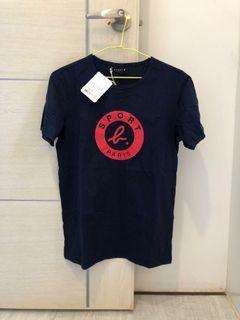 agnes b. 男款純棉短袖T恤