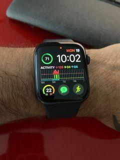 Apple Watch - 5 series 44mm space gray GPS and wifi