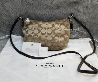 Authentic Coach Signature Collection Sling Bag
