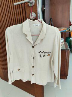 blazer / jaket size fit toL kecil