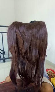 Hair Clip Cokelat
