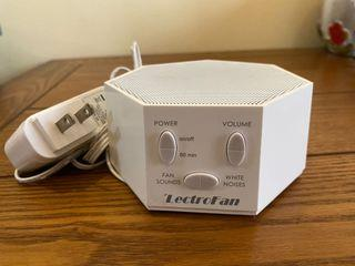 美國LectroFan最佳除噪助眠器 白噪音