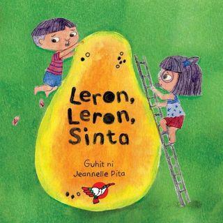 Leron, Leron, Sinta   Adarna House   Filipino   Boardbook   Children's Book
